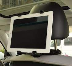Giá đỡ, giá treo iPad máy tính bảng sau ghế ô tô 50(Đen)
