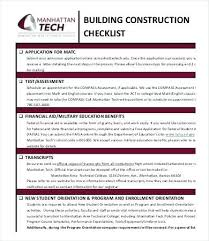 Construction Site Housekeeping Checklist Template