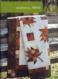 Best 25+ Fall quilts ideas on Pinterest | Fall table runner ... & A slightly different leaf block, Autumn Dance as featured in Quilters  Connection magazine. Autumn QuiltsPatchwork PatternsPatchwork ... Adamdwight.com