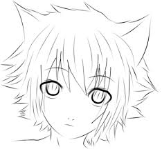 Anime Cat Boy Drawing Anime Collection