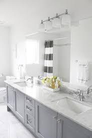 bathrooms designs ideas. Source: AM Dolce Vita Gray Yellow Bathroom, Bianco Carrara Floor, Vanity In Benjamin Bathrooms Designs Ideas O