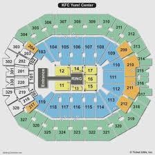 Yum Concert Seating Chart Most Popular Yum Center Virtual Seating Chart Seating Chart