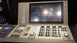 the gio 5 console in the etc booth at ldi