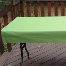 6 inch drop vinyl tablecloths
