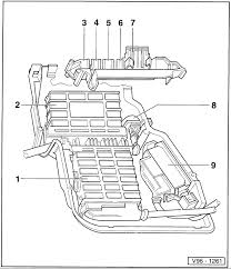 i have a 1997 audi 2 8 a6 with no spark at the plugs, cranks fine  at Audi A4 Fuse Box Location 2017 Footwell