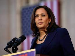 Dit is Kamala Harris, de running mate ...