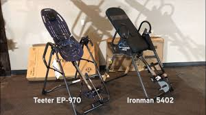 Teeter Comparison Chart Inversion Table Review Assembly Comparison Of Teeter Ep 970 And Ironman 5402