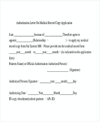 Sample Medical Authorization Letter Magnificent 48 Medical Authorization Letter Examples PDF