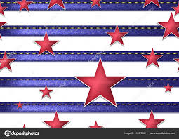 Fourth Of July Independence Day Seamless Background Perfect