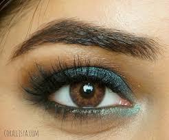 makeup for brown eyes using makeup geek houdini