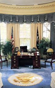 Obama Oval Office Decor Middle Eastern History White House Museum
