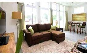 brown leather sofa living room ideas couch light decorating design single tub good look beautiful
