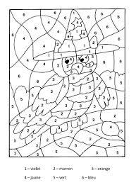 Magique Hibou Tr S Faciles Maternelle Coloriages Magiques