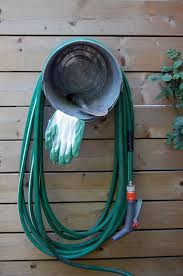 garden hose storage ideas