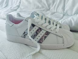 adidas shoes for girls superstar pink. shoes adidas superstars girls sneakers white pattern girl girly pink superstar for a