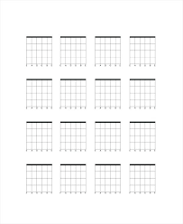 Blank Chord Chart Piano Chords Printable Pdf – Originated.info