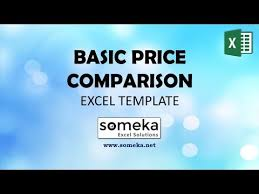 Vendor Comparison Chart Template Price Comparison Excel Template Spreadsheet For Vendor