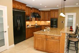 Kitchen Cabinets Granite Countertops How To Create Custom Built Ins With Kitchen Cabinets From Thrifty