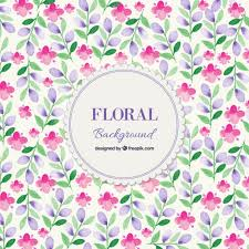 Free Floral Backgrounds Watercolor Spring Floral Background Vector Free Download