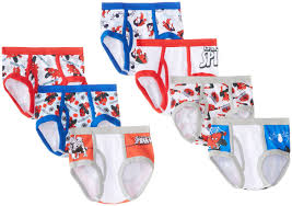 com marvel little boys spiderman seven pack of briefs com marvel little boys spiderman seven pack of briefs clothing