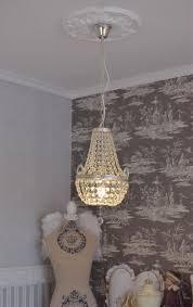Kristalllüster Deckenleuchte Antik Kronleuchter Kristalle Lüster Lampe