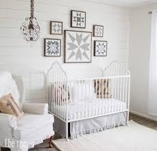 9 9 white gender neutral nursery