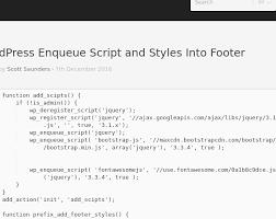 wordpress enqueue script and styles