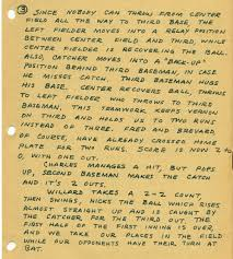 the life and work of b d mckay  the gang s baseball game page 3