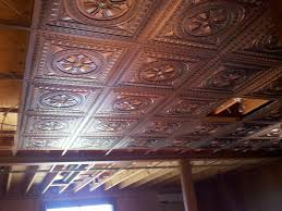 Basement Drop Ceiling Ideas John Robinson Decor Decorative Drop