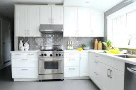 medium size of white cabinets black countertops gray backsplash grey countertop kitchen with subway tiles transitional