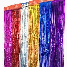 rain curtain rain ribbon birthday decoration background wall 3 m high 1 m wide gold and