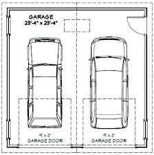 dimensions one car garage minimum 2 car garage door width one car garage door size