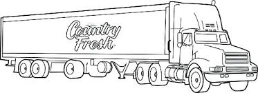 Semi Truck Coloring Pages Free Semi Truck Coloring Pages Free
