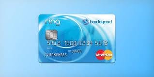 barclaycard ring mastercard credit card