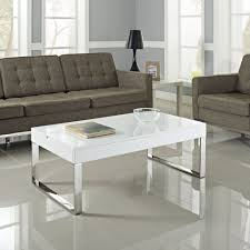 cute high gloss coffee table black floor straas curved cream round