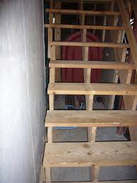 Basement Insulation  Part  GreenBuildingAdvisorcom - Unfinished basement stairs