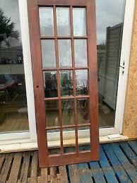 solid rosewood teak glass 15 panel