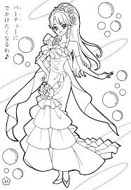 Mahou Tsukai Precure Anime Coloring Pages プリキュア ぬりえ