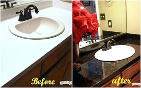 can you paint laminate countertops faux into s beautiful cleaning granite painting kitchen to look like