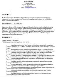 Examples Of Resume General Objectives General Resume Objective Enchanting Writing A Good Objective For A Resume