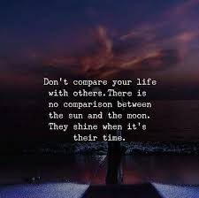 Best Positive Quotes Dont Compare Your Life With Others Quotes Simple Dont Compare Quotes