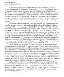 contrasting images essays argumentative essay thesis writing  comparison and contrast essays about two people