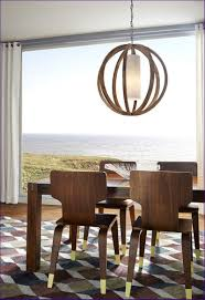 awesome round wood chandelier