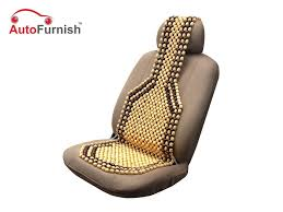 picture of car wooden bead seat acupressure design universal size single piece