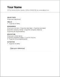 simple cv format sample simple cv form resume format simple resume easy to use resume templates
