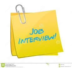 job interview post illustration design royalty stock photo job interview post illustration design