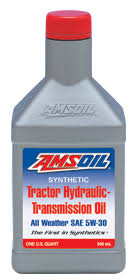 Amsoil Synthetic Tractor Hydraulic Transmission Oil Sae 5w 30