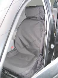 waterproof tailored to fit seat covers in black