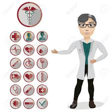 Doctor Applications Health And Medical Icon Set With The Doctor Vector Icons For