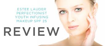 estee lauder perfectionist youth infusing makeup spf 25 futurederm review ings